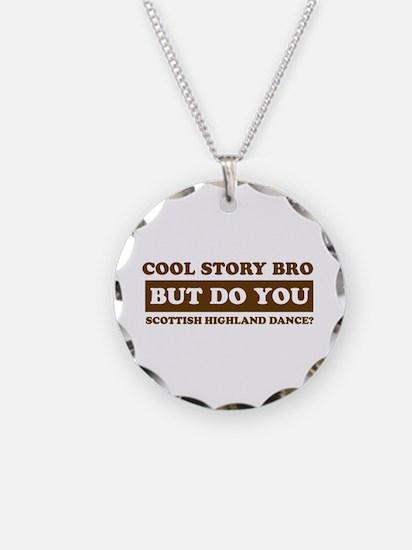 Cool Scottish Highland designs Necklace