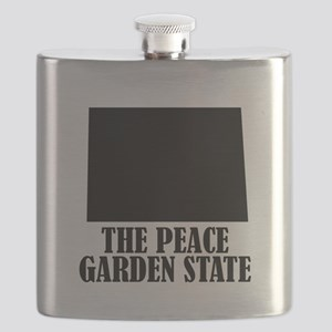 North Dakota The Peace Garden State Flask