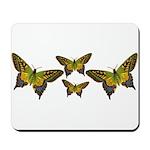 Green Butterfly Mousepad