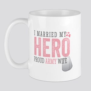 I Married my Hero Mug