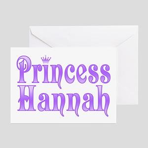 """""""Princess Hannah"""" Greeting Cards (Pk of 10)"""