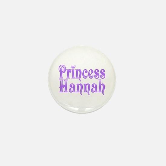 """""""Princess Hannah"""" Mini Button"""