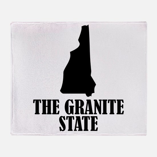 New Hampshire The Granite State Throw Blanket