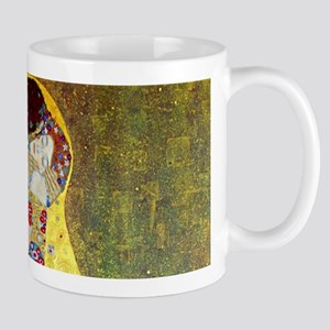 The Kiss by Gustav Klimt, Vintage Art Nouveau Mug