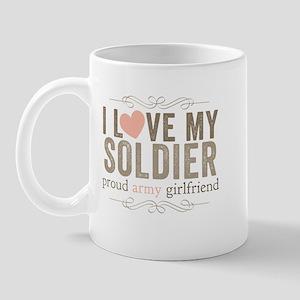 I Love my Soldier Mug
