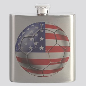 USA Soccer Ball Flask