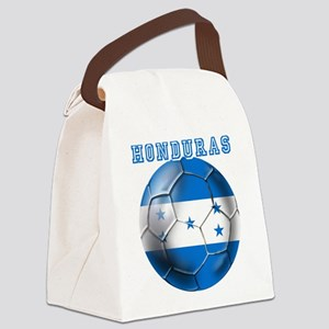 Honduras Soccer Football Canvas Lunch Bag