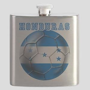 Honduras Soccer Football Flask