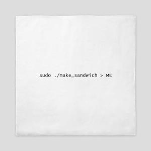 Sudo Make_Sandwich Queen Duvet