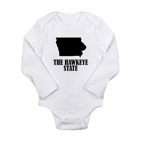 Iowa The Hawkeye State Body Suit