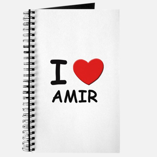 I love Amir Journal
