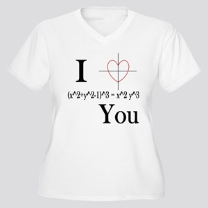 I (x^2+y^2-1)^3 = x^2 y^3 You Plus Size T-Shirt