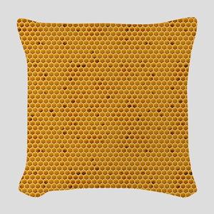 Wheres My Honey Woven Throw Pillow
