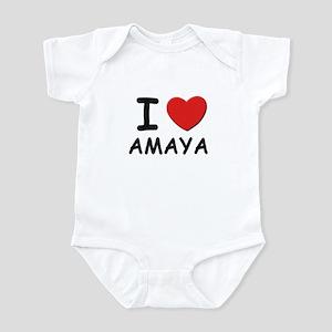 I love Amaya Infant Bodysuit