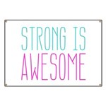 Strong is Awesome Banner