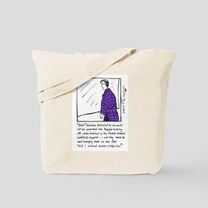 Sherlock Holmes Ponders Lunch Tote Bag