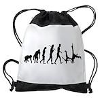 Evolution of Capoeira Drawstring Bag