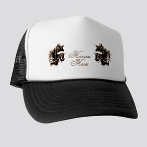 Harness Horses Trucker Hat