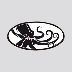 Black Octopus Patches
