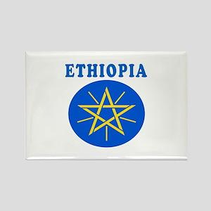 Ethiopia Coat Of Arms Designs Rectangle Magnet