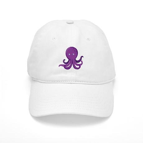 Purple Octopus Baseball Baseball Cap by UnderTheSea2 1338355d8a91