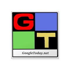GoogleToday 3x3 Sticker