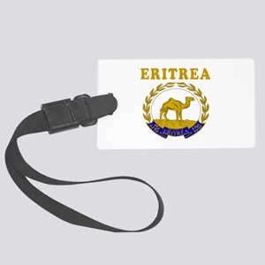 Eritrea Coat Of Arms Designs Large Luggage Tag