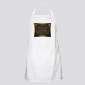 Soldiers creed Apron