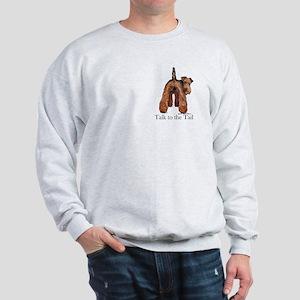 Welsh Terrier Attitude Sweatshirt