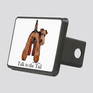 Welsh Terrier Attitude Rectangular Hitch Cover