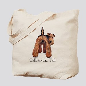Welsh Terrier Attitude Tote Bag