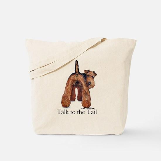 Welsh Terrier Attitude Tote Bag