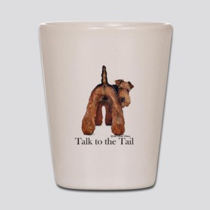 Welsh Terrier Attitude Shot Glass
