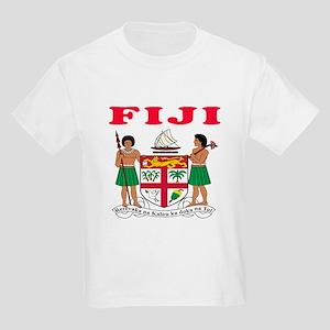 Fiji Coat Of Arms Designs Kids Light T-Shirt