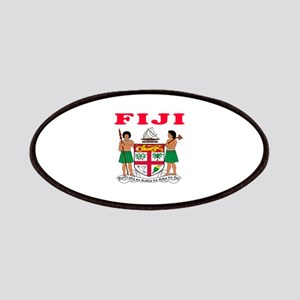 Fiji Coat Of Arms Designs Patches