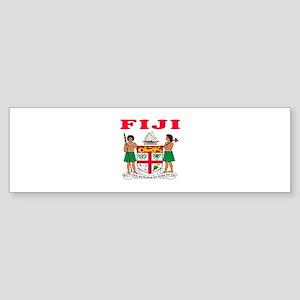Fiji Coat Of Arms Designs Sticker (Bumper)