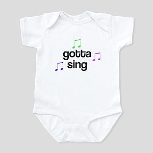 Gotta Sing Choir Infant Bodysuit