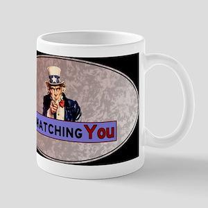 Uncle Sam Is Watching Mug