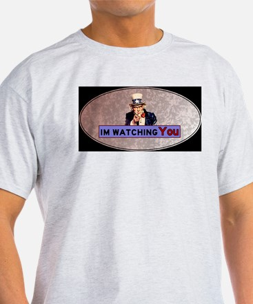 Uncle Sam Is Watching T-Shirt