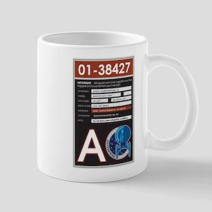ENTERPRISE Sticker1 11 oz Ceramic Mug