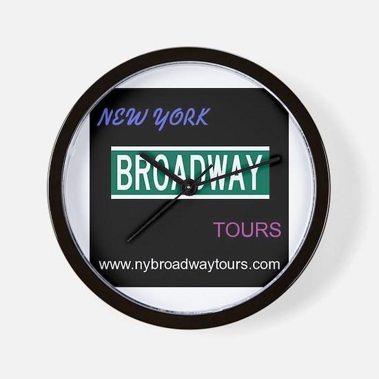 Broadway musicals Wall Clock