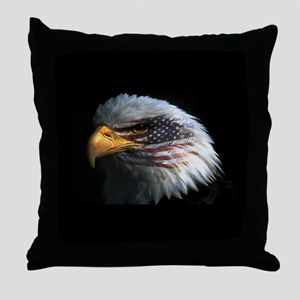 eagle3d Throw Pillow