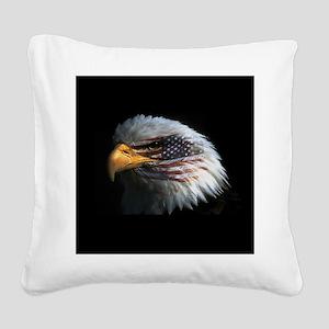 eagle3d Square Canvas Pillow