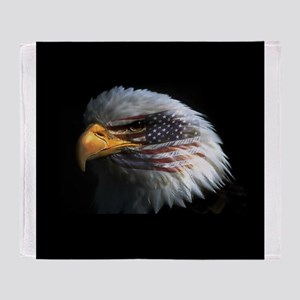 eagle3d Throw Blanket
