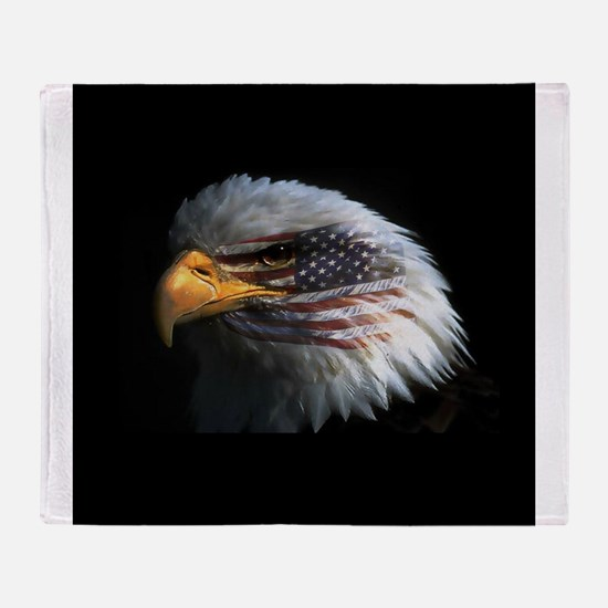 eagle3d.png Throw Blanket