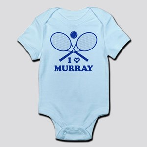 Love Murray (blue for white) Body Suit