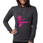 Karate Girl Womens Hooded Shirt