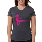 Karate Girl Womens Tri-blend T-Shirt