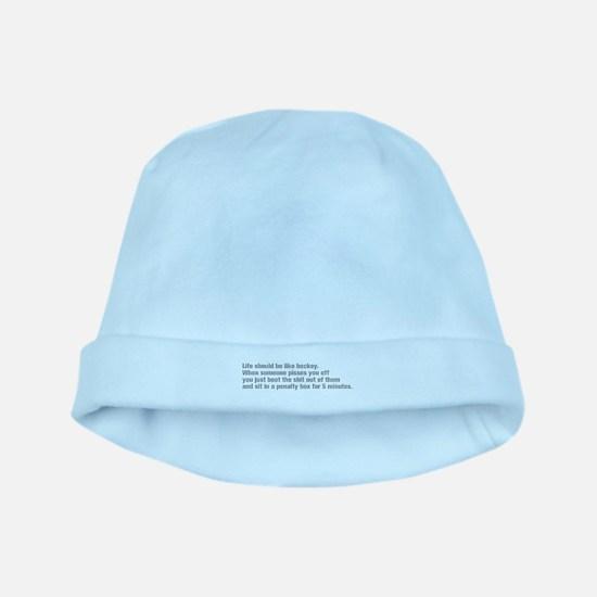 life-should-be-like-hockey-ak-gray baby hat