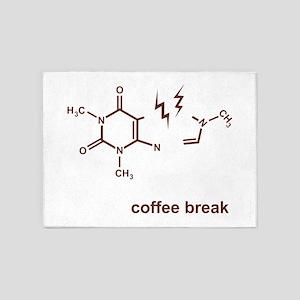 Coffee Break! 5'x7'Area Rug